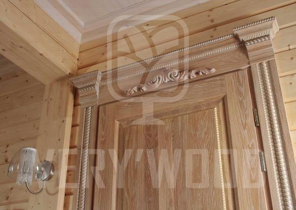 Межкомнатные двери из массива дуба купить в Минске